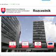 Ministerstvo práce, sociálních věcí a rodiny, Slovenská republika